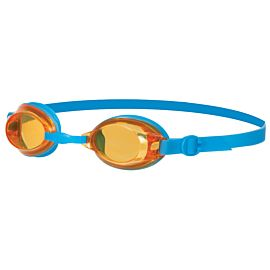 Speedo Jet zwembril junior blue orange