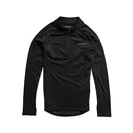 Superdry Snow Half Zip thermoshirt heren black