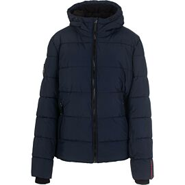 Superdry Sports Puffer winterjas heren navy black