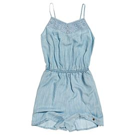 Superdry Tess playsuit dames vacation blue
