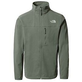 The North Face Nimble softshell jas heren agave green