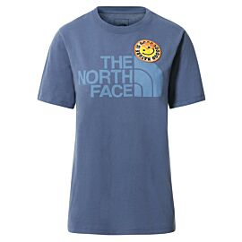 The North Face Patches shirt dames vintage indigo