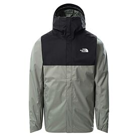 The North Face Quest Zip In outdoor jack heren agave green TNF black