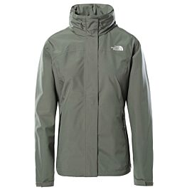 The North Face Sangro outdoor jack dames agave green dark heather