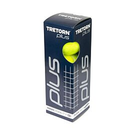 Tretorn Plus 3-pack tennisballen