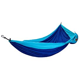 Ticket To The Moon Hangmat 1 persoons royal blue/turquoise