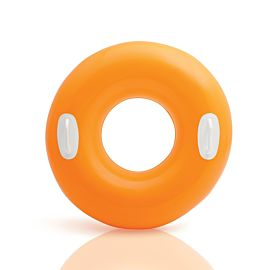 Intex Hi Gloss Tube zwemband oranje