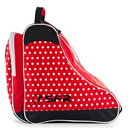 SFR Bag schaatstas red polka