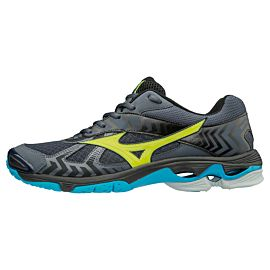 Mizuno Wave Bolt 7 V1GA186047 indoorschoenen heren ombre blue safety yellow black