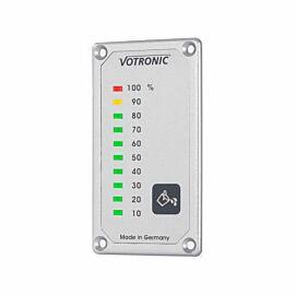 Votronic Led display vuilwatertankmeter