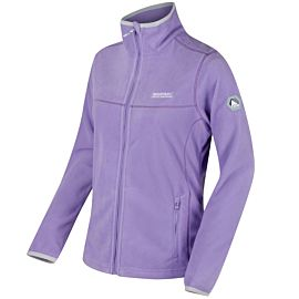 Floreo II fleece vest dames paisly purple