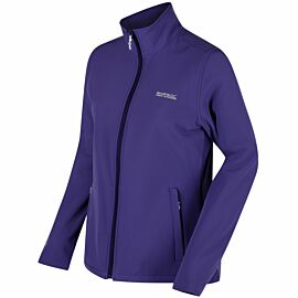 Regatta Connie III softshell jack dames elderberry