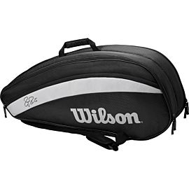 Wilson Federer Team 6 tennistas black