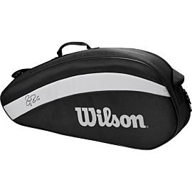 Wilson Federer Team 3 tennistas black
