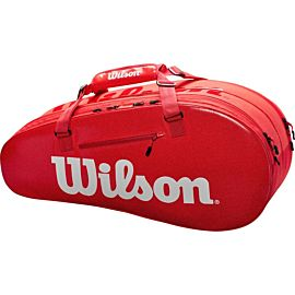 Wilson Small Tour 2 Compartments tennistas red