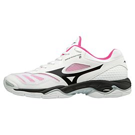 Mizuno Wave Phantom 2 X1GB186009 indoorschoenen dames white pink glow black