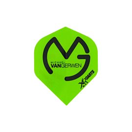 XQ-Max Darts Michael van Gerwen flights groen