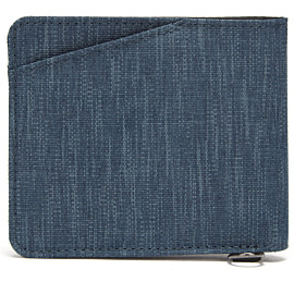 pacsafe silent pocket rfidsafe bifold portemonnee dark denim