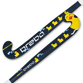 Brabo O'Geez Taping Duck hockeystick junior navy yellow