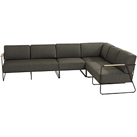 4 seasons outdoor coast large loungebank anthracite