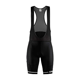 craft rise bib fietsbroek heren black