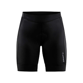craft rise fietsbroek dames black