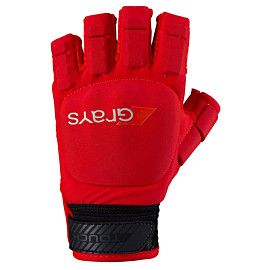 grays touch pro hockeyhandschoen fluo red