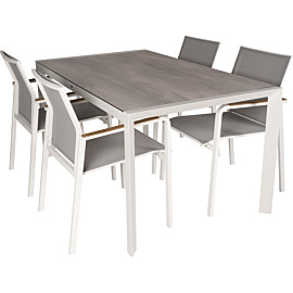 hartman california 150 tutti tuinset nautic white grey teak