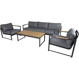 hartman fontaine 120 x 60 loungeset charcoal