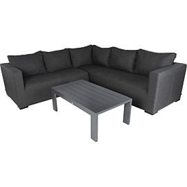 hartman oliver 110 x 63 loungeset anthracite grey