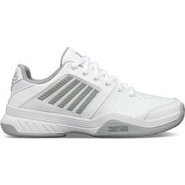 k-swiss court express hb 96750 tennisschoenen dames white highrise