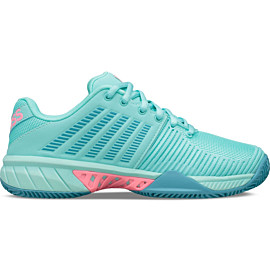 k-swiss express light 2 hb 96611 tennisschoenen dames aruba blue maui blue