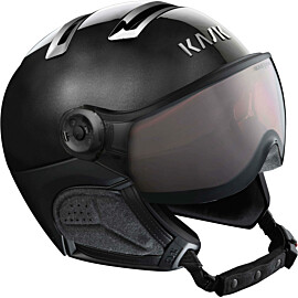 KASK Chrome Photochromic skihelm black silver
