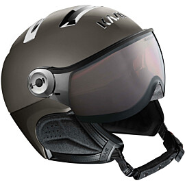 KASK Chrome Photochromic skihelm platinum