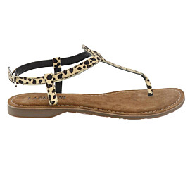 lazamani hair on sandalen dames dalmatian
