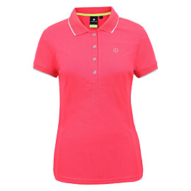 luhta antby polo dames hot pink