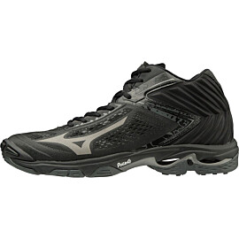 Mizuno Wave Lightning Z5 Mid V1GA1905-97 indoorschoenen heren black