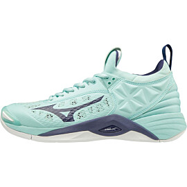 Mizuno Wave Momentum V1GC1912-28 indoorschoenen dames blue light