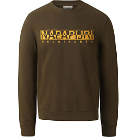 napapijri bolanos sweater heren military green