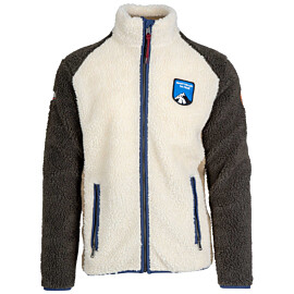 napapijri yupik fleece vest heren whitecap gray
