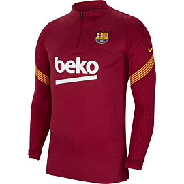 Nike FC Barcelona Strike trainingstrui heren noble red