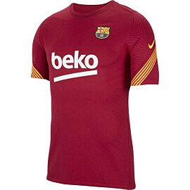 Nike FC Barcelona Strike voetbalshirt heren noble red