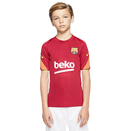 Nike FC Barcelona Strike voetbalshirt junior noble red
