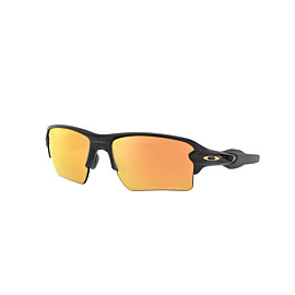 oakley flak 2.0 xl fietsbril heren matte black polarized