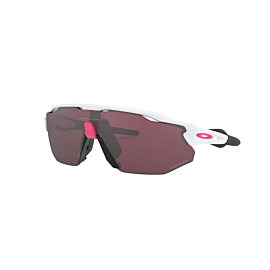 oakley radar ev advancer fietsbril dames polished white