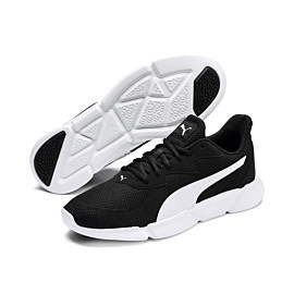 puma interflex 192567 fitness schoenen heren black white