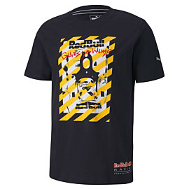 puma red bull racing street shirt heren night sky
