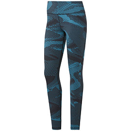 reebok lux 2.0 legging dames seaport teal