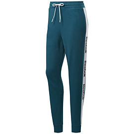reebok training essentials linear logo fitness broek dames heritage teal