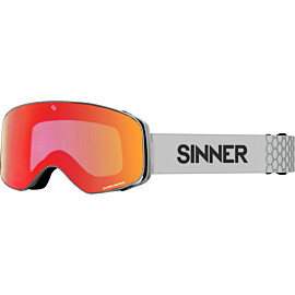 sinner olympia + skibril matte light grey